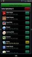 Screenshot of Active Apps Ads / Task Manager