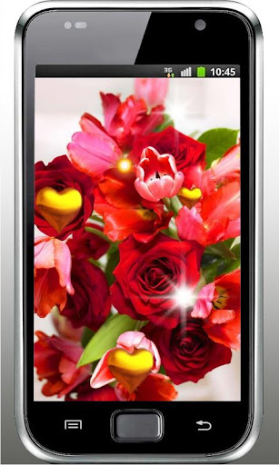 Roses Gifts HD live wallpaper