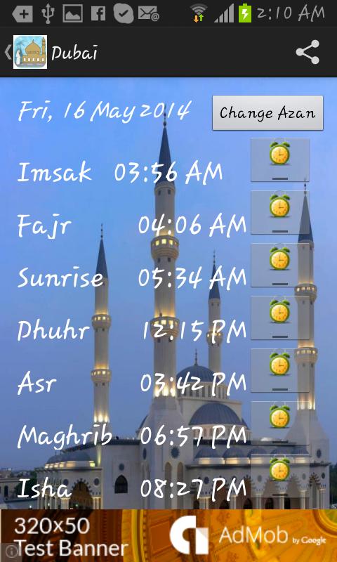 UAE Prayer Timings Dubai Abu Dhabi APK Latest Version