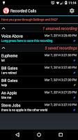 Screenshot of Calls Recall | Call Recorder
