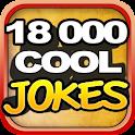 18,000 COOL JOKES logo