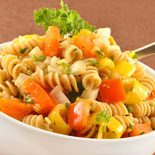 Two-Pepper Pasta Salad.