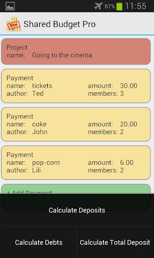 【免費生活App】Shared Budget Pro-APP點子
