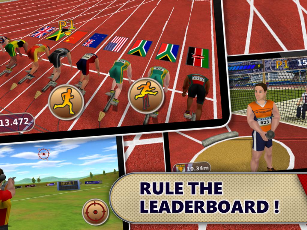 Athletics: Summer Sports Free - screenshot
