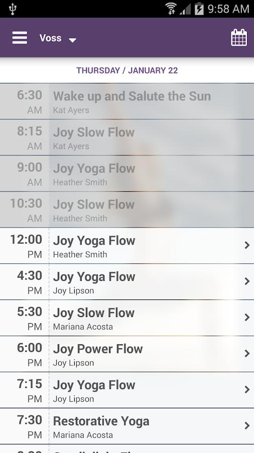 Joy Yoga Center - screenshot