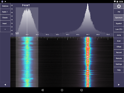 SDR Touch - Live offline radio- screenshot thumbnail