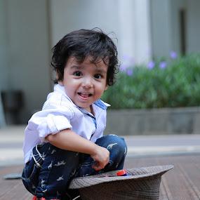 Habibie in action by Mia Sismadi - Babies & Children Children Candids