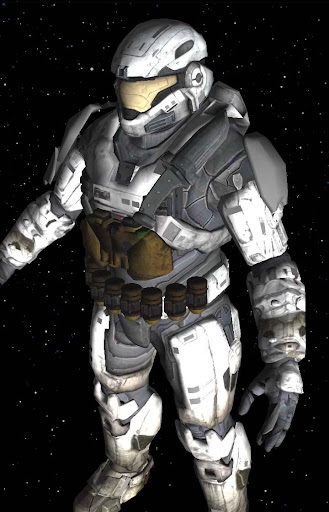 3D Halo Spartan Live Wallpaper