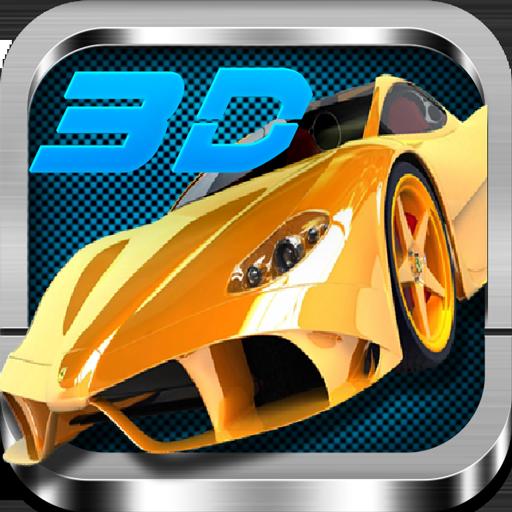 疯狂飙车3D 賽車遊戲 App LOGO-APP試玩