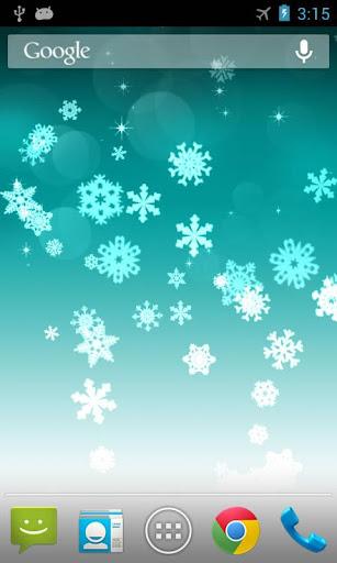 玩個人化App|雪花專業版動態桌布 Snowflake免費|APP試玩