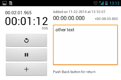 Simple Stopwatch- screenshot thumbnail