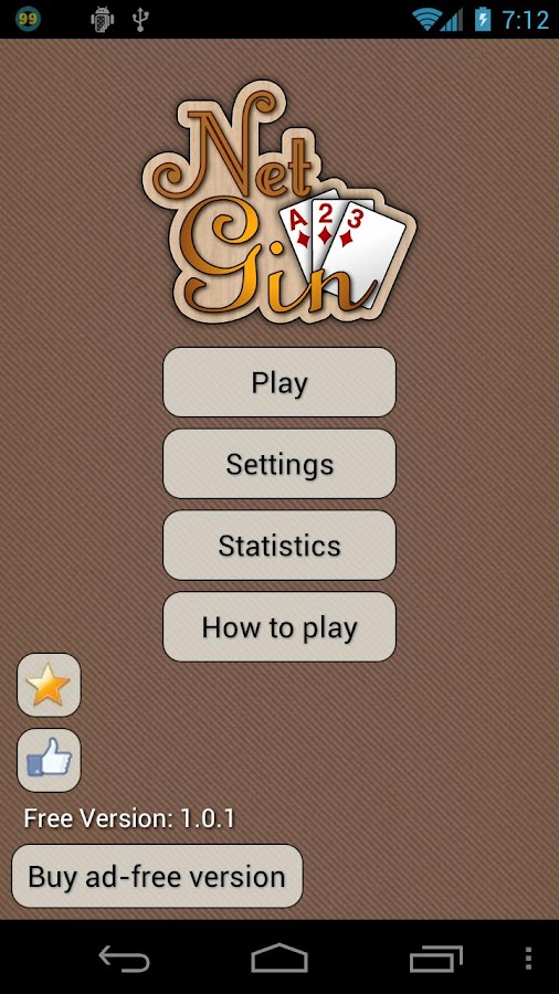 Gin Rummy - Net Gin Free - screenshot