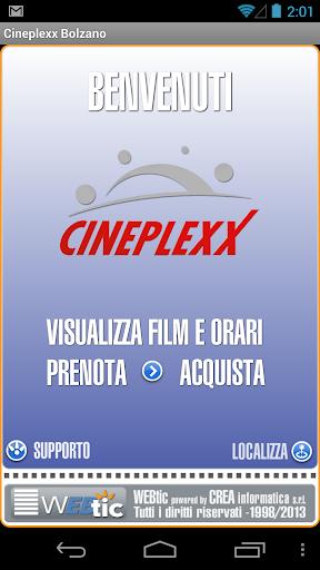 Webtic Cineplexx Bolzano