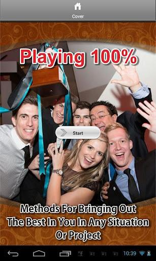 Playing 100