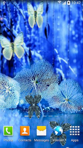 Abstract Butterflies Wallpaper 1.0.8 screenshots 2