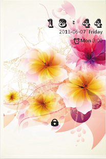 Flower Bliss S4 LOCK SCREEN - screenshot thumbnail