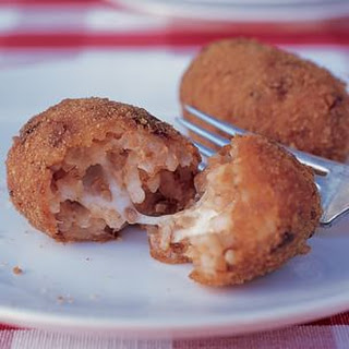 Rice Croquettes (Supplì al Telefono)