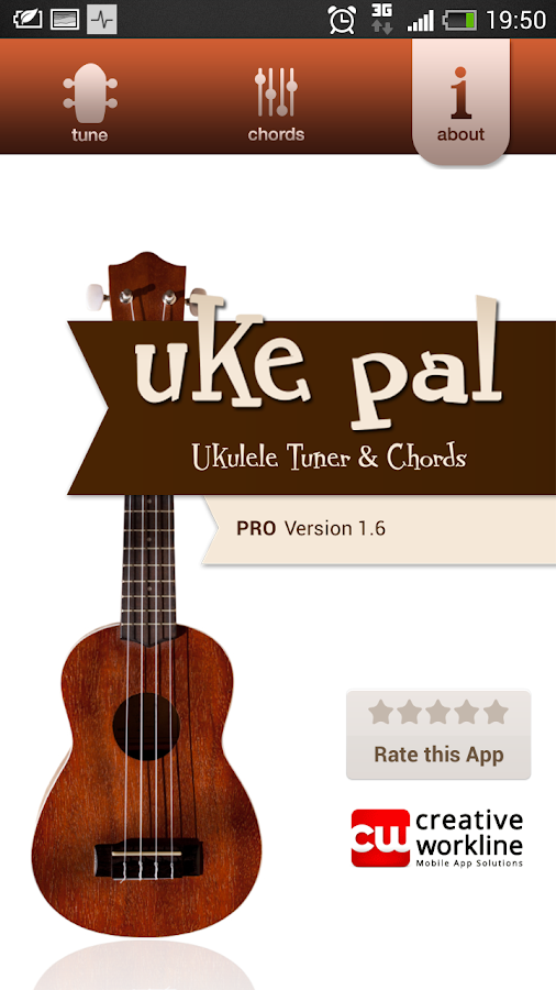 uke pal - Ukulele Tuner&Chords - screenshot