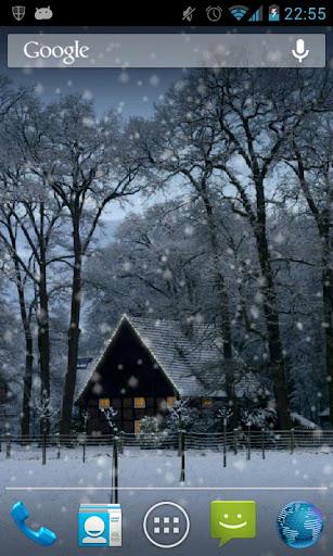 Winter Snowfall Live Wallpaper