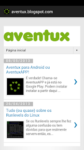 AventuxAPP- screenshot thumbnail