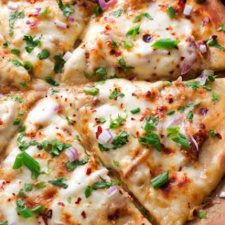 Korean BBQ Chicken Pizza