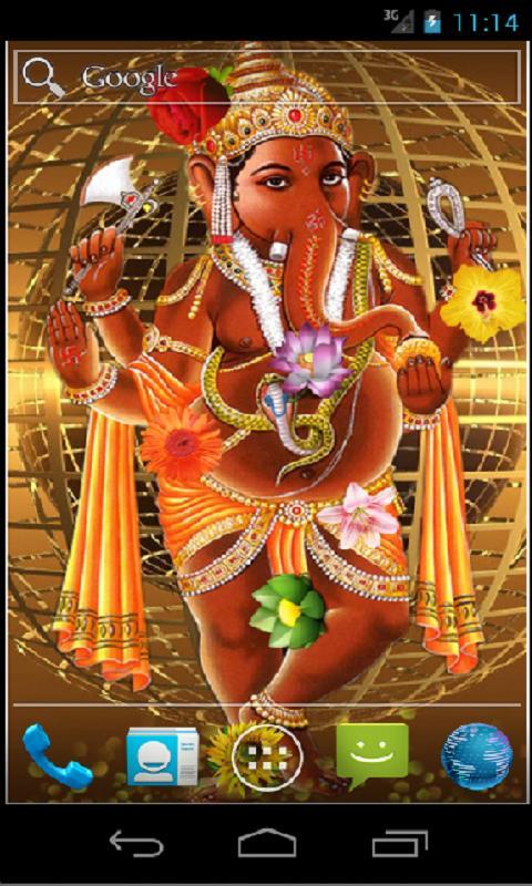 Hd wallpaper ganpati - Ganesha Hd Live Wallpaper Android Apps Op Google Play