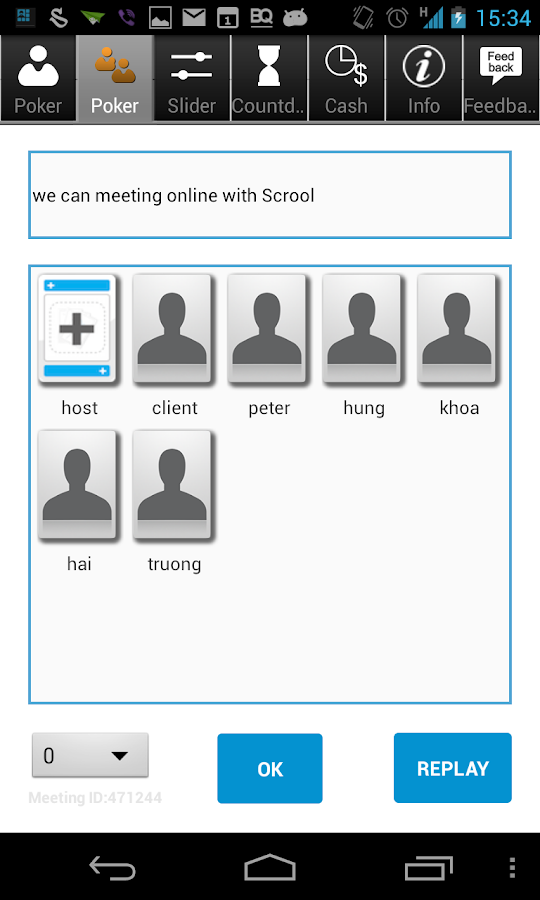 Scrum Tools - Scrool - screenshot