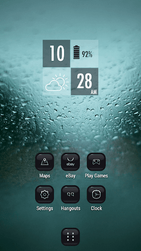 玩個人化App|雨滴細雨窗口主題免費|APP試玩