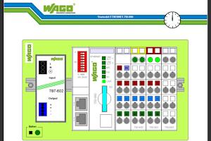 Screenshot of WAGO WebVisu