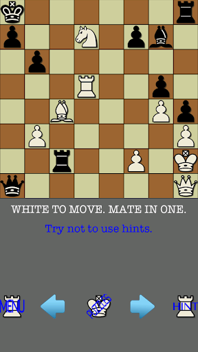 101 Chess Puzzles Mate In ONE