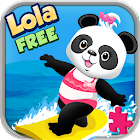 Lola's Beach Puzzle Lite icon