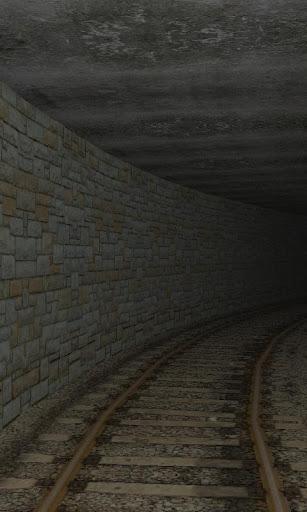 3D Train Tunnel Simulation LWP