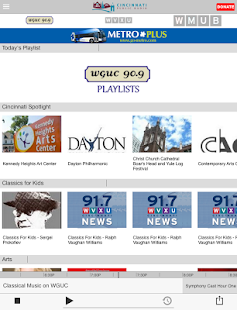 WGUC Public Radio App - screenshot thumbnail