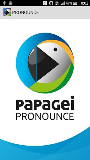 papagei PRONOUNCE
