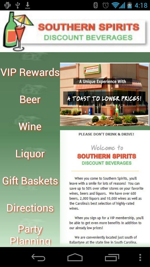Southern Spirits - screenshot
