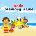 Dedo Memory Game – kids FREE logo