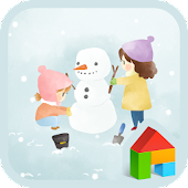 build a snowman dodol theme