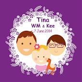 Tina WM and Kee Wedding Party