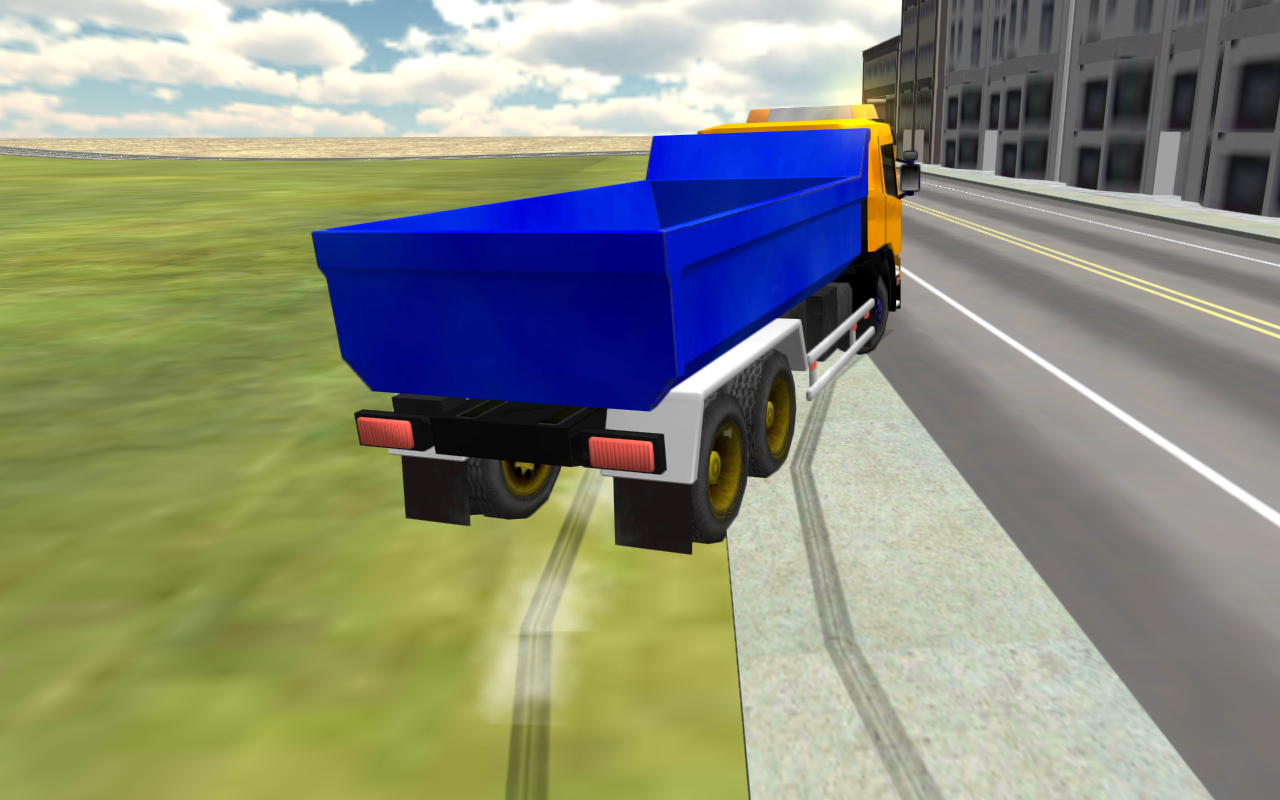City Truck Driving Simulator- screenshot