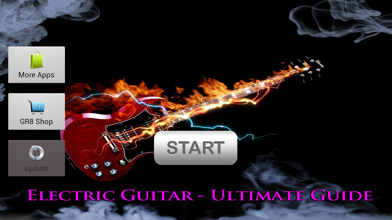 Electric Guitar Songs & Solos - screenshot