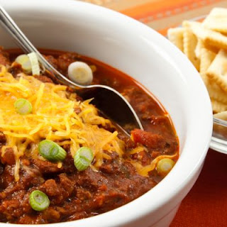 Copycat Wendy's Chili in the Crockpot!.