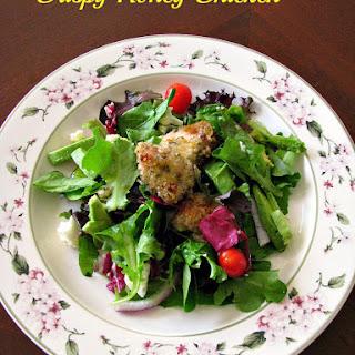 Crispy Honey Chicken Spring Salad for #SundaySupper