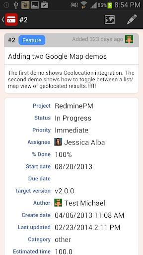 RedminePM - Redmine Client App 2.5.2 Windows u7528 2