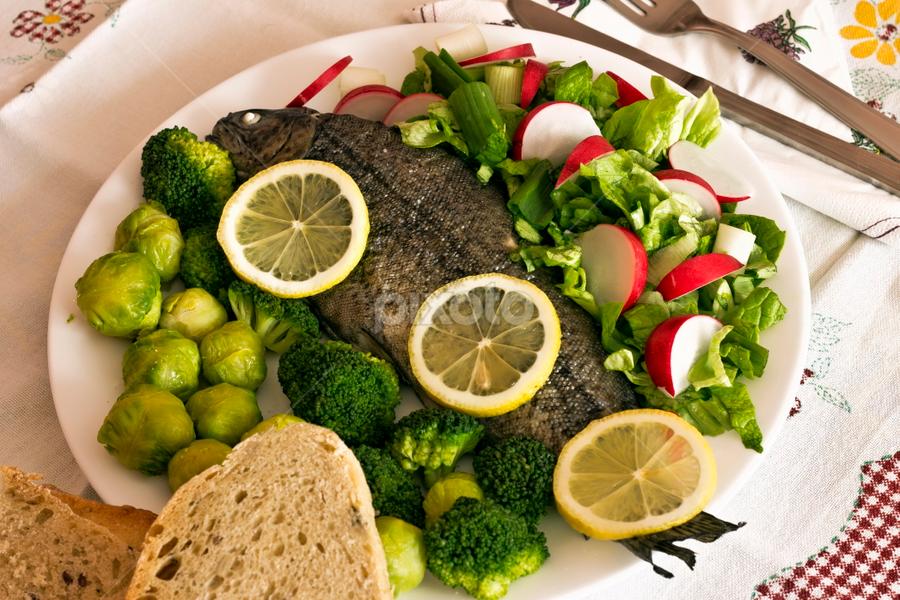 Fish by Tijana Lubura - Food & Drink Eating
