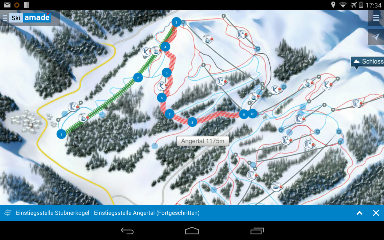 Ski amadé Guide - screenshot