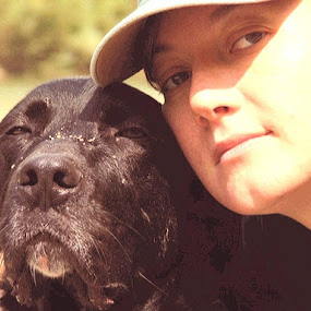 In Memories of Those that Who are Not Here by Nat Bolfan-Stosic - Animals - Dogs Portraits ( best, labrador, black, medo, friend,  )