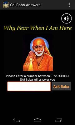 SAI BABA ANSWERS - screenshot