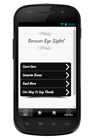 Recover Eye Sight Guide