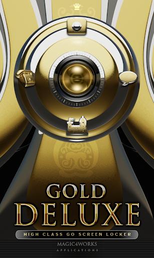 GO Locker Theme Gold Deluxe