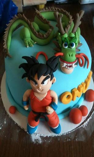 DBZ Birthday Cake